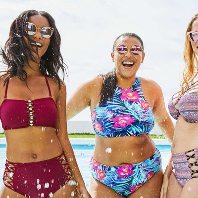 Target is featuring un-Photoshopped models in its new swimsuit ad campaign.