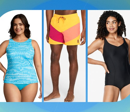 collage of best swimsuits