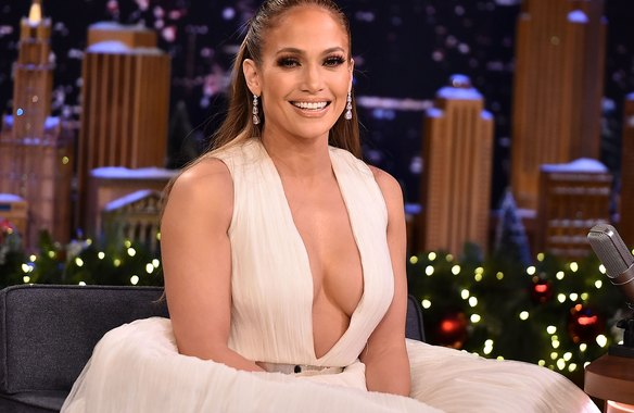 Jennifer Lopez Visits 'The Tonight Show Starring Jimmy Fallon'