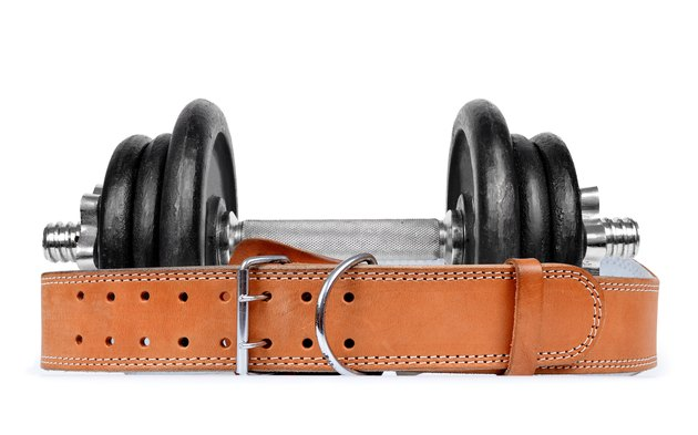 Dumbbell with belt