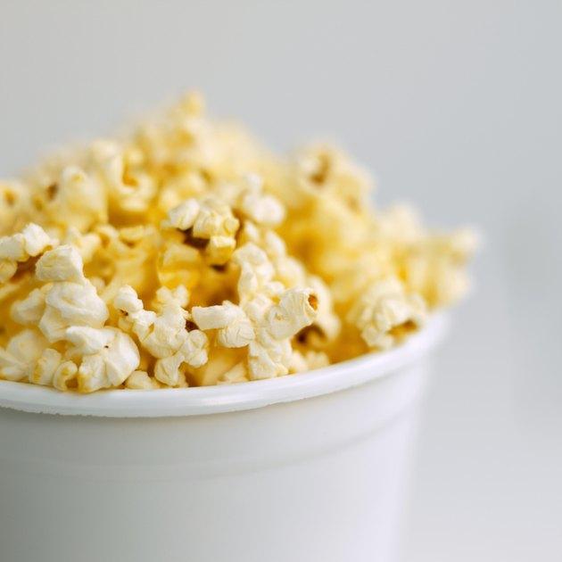 Close-up of popcorn