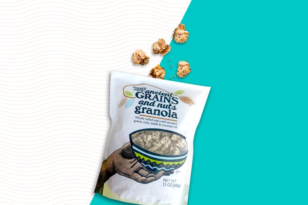 Ancient Grains and Nuts Granola best trader joes snacks