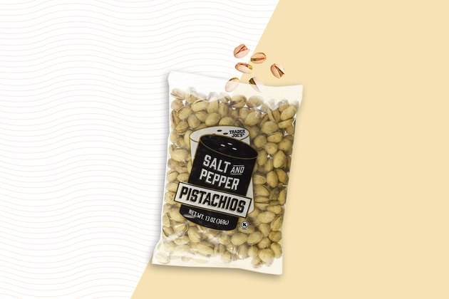 Salt and Pepper Pistachios best trader joes snacks