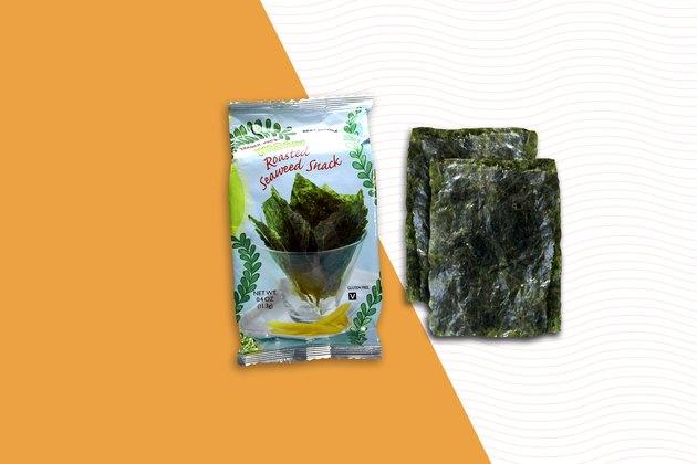 Roasted Seaweed Snacks best trader joes snacks
