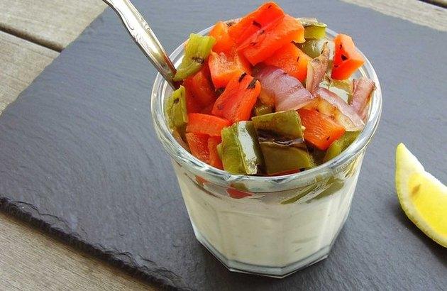 Grilled Vegetable Greek Yogurt Satiating Yogurt Recipes