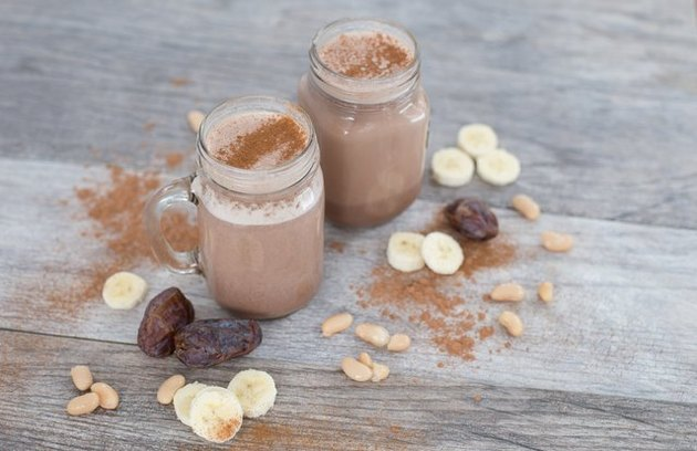 protein shake recipes Creamy Chocolate, Cannellini Bean and Cinnamon Smoothie