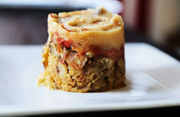 Slow-Cooker Vegetarian Moussaka Mediterranean Diet Slow Cooker Recipes