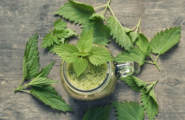 protein shake recipes Mason Jar Hemp Green Smoothie