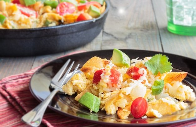 California Scrambled Eggs and Avocado Egg Recipes