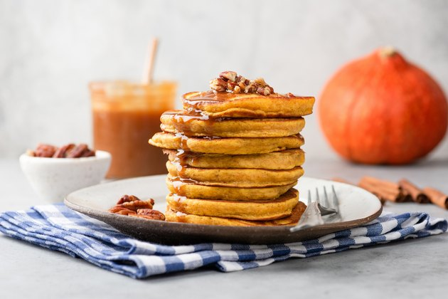 pumpkin pancakes with protein