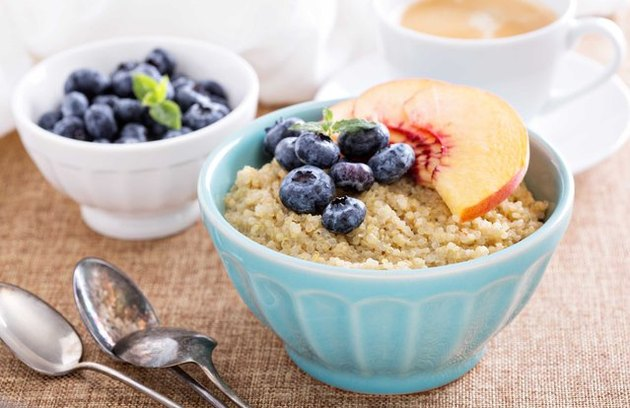Quinoa breakfast recipes  Quinoa and Amaranth Supercharged Breakfast