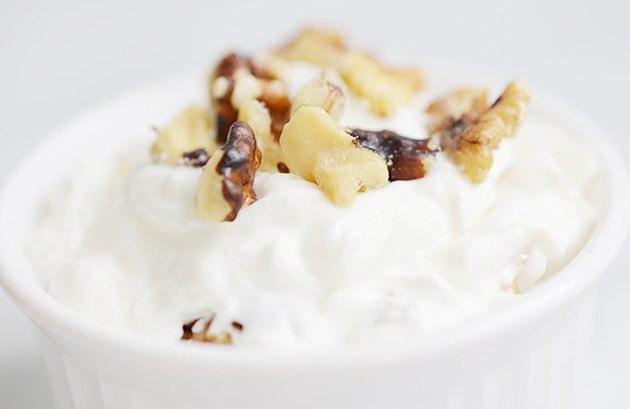 Walnut Yogurt Breakfast - protein breakfast