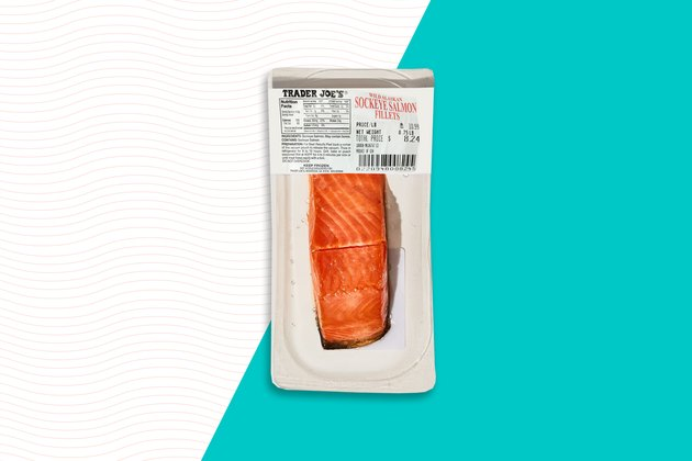 Frozen Sockeye Salmon Fillets Trader Joe's Frozen food