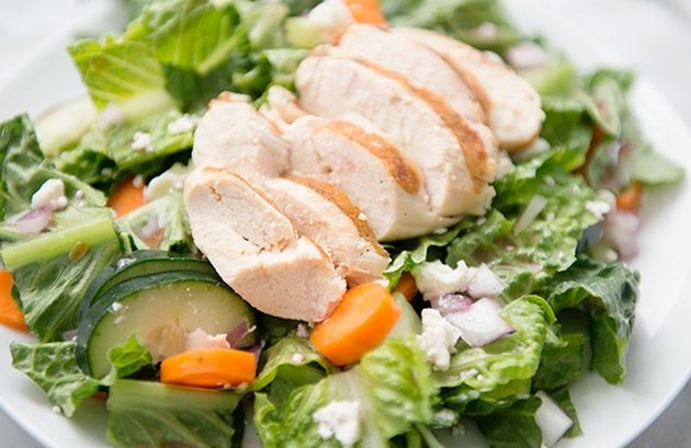 Chicken and Goat Cheese Salad healthy lunch recipes