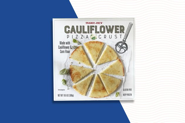 Cauliflower Pizza Crust Trader Joe's Frozen food