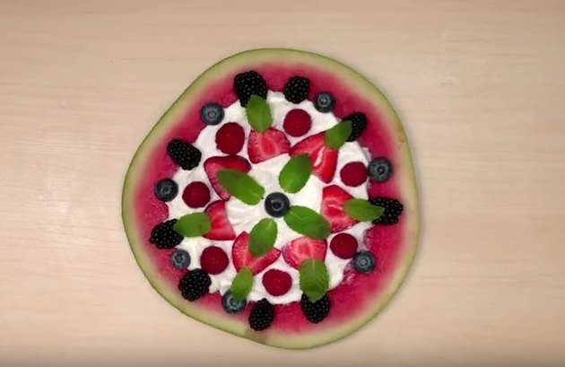 Watermelon Fruit Pizza Recipes