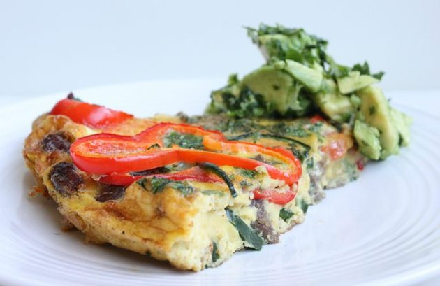 Fajita Frittata with Avocado Salsa Jalapeno Recipes