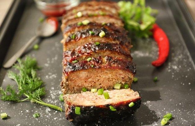Healthy comfort food recipes Farmer's Market Meatloaf