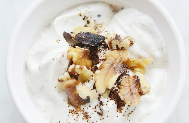 Coffee Yogurt Mediterranean breakfast recipe