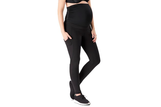 Belly Bandit Active Support Maternity Workout Leggings