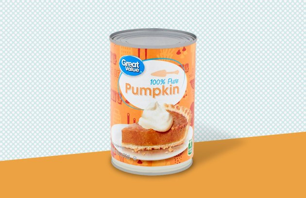 Great Value 100-Percent Pure Canned Pumpkin