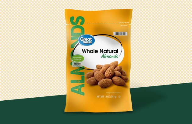 Great Value Whole Natural Almonds