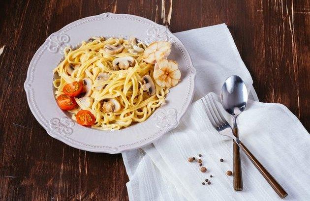 Vegan Alfredo Pasta 300 Calorie Pasta Recipe