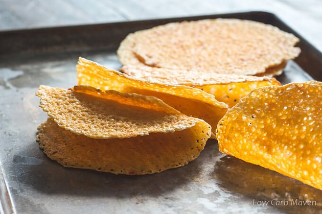 Crispy Cheese Taco Shells keto recipes