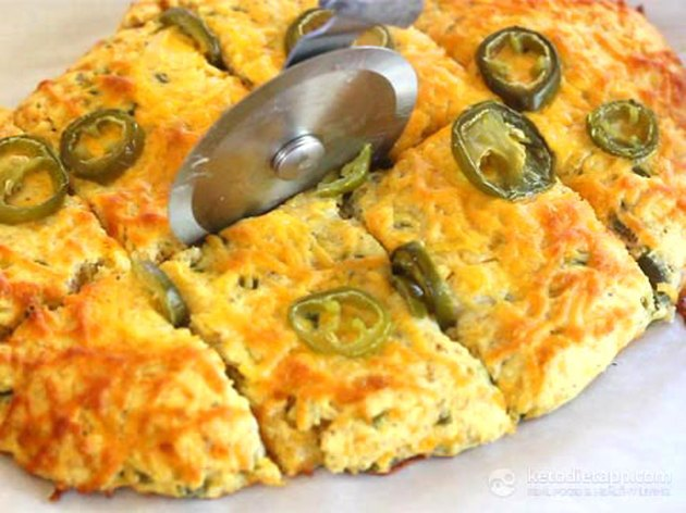 Keto Jalapeno Cheese Bread keto recipes