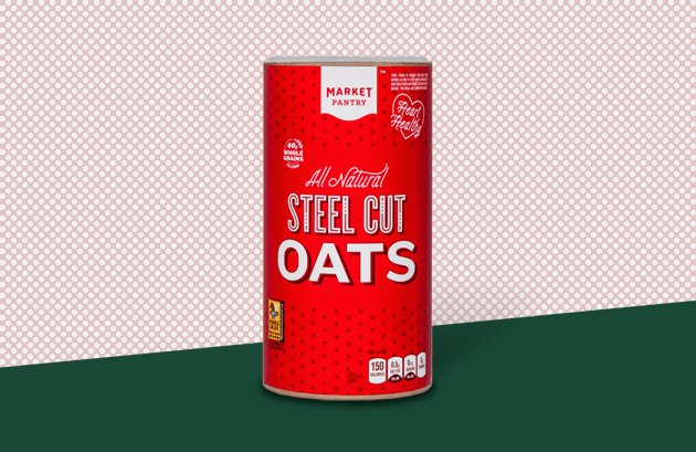 Market Pantry Steel-Cut Oatmeal healthy food at target