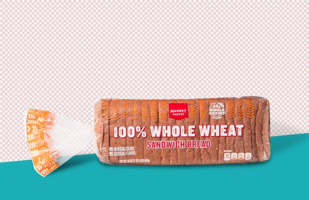 Market Pantry 100-Percent Whole-Wheat Bread healthy food at target