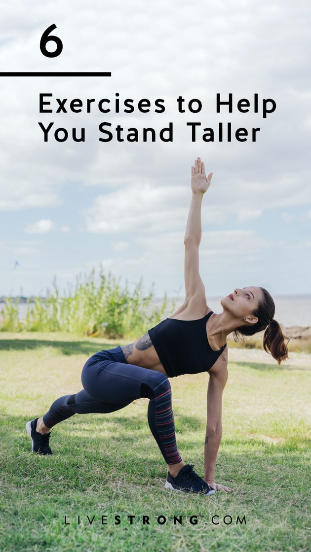 6 exercises to help you stand taller graphic