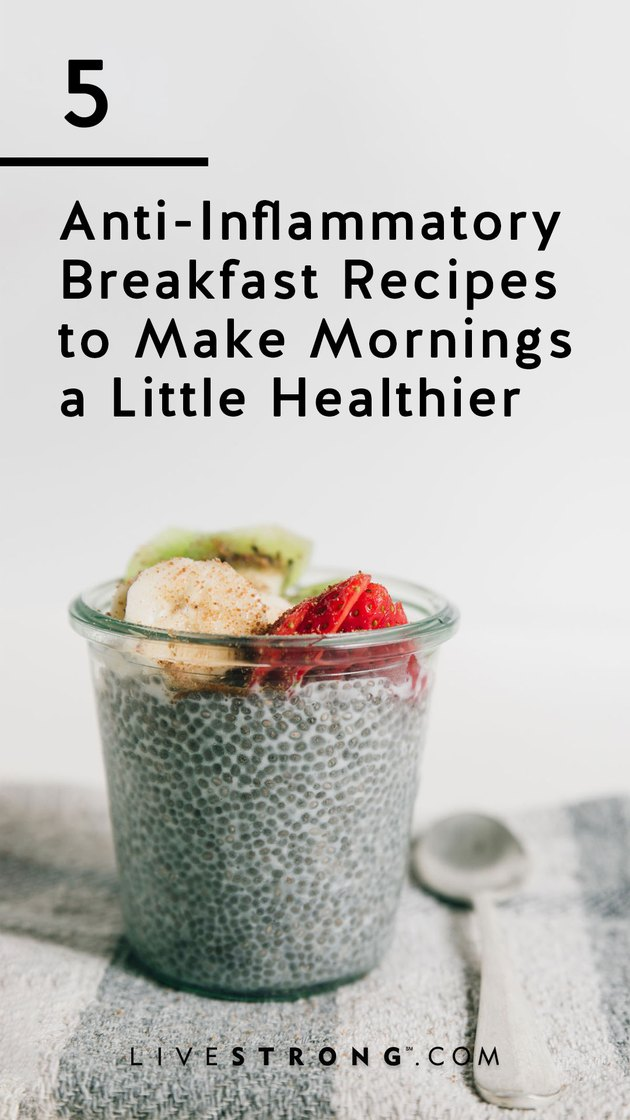 5 anti-inflammatory breakfast recipes to make mornings healthier graphic