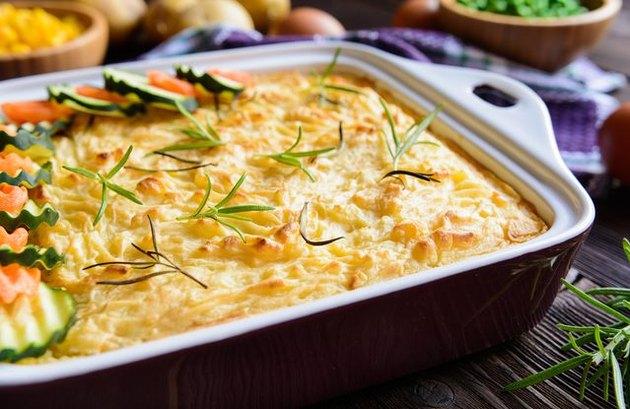 Healthy comfort food recipes Not Your Average Shepherd's Pie