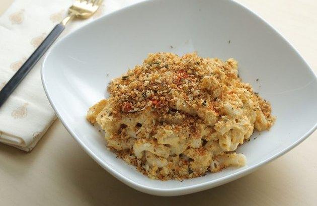 Healthy comfort food recipes Vegan Mac & Cheese