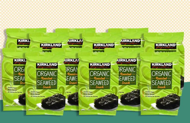 Kirkland Signature Organic Roasted Seaweed Snack Pack