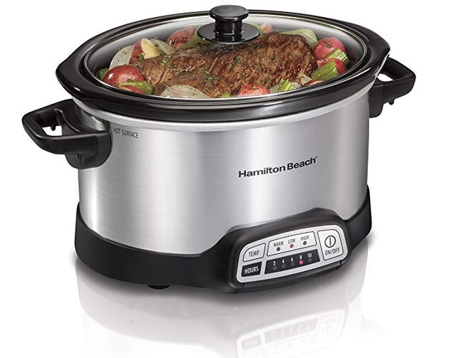Hamilton Beach 4-Quart Programmable Slow Cooker