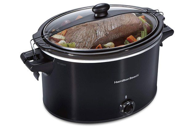 Hamilton Beach Extra-Large Stay or Go Portable 10-Quart Slow Cooker