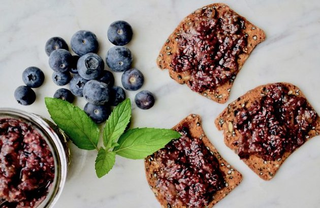 Blueberry Chia Jam Mood Lifting Recipe