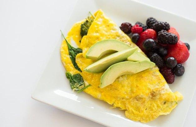 filling breakfast recipes Lean Green Omelette
