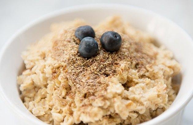 high protein hot oatmeal recipes Flaxseed Oatmeal