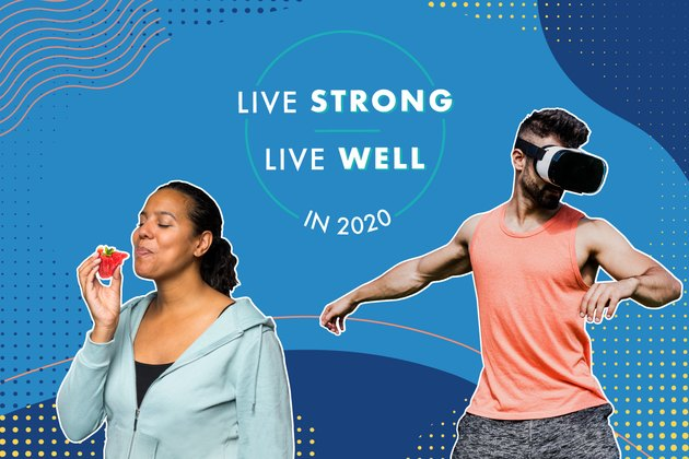 Livestrong.com's Live Strong Live Well in 2020 Trends package