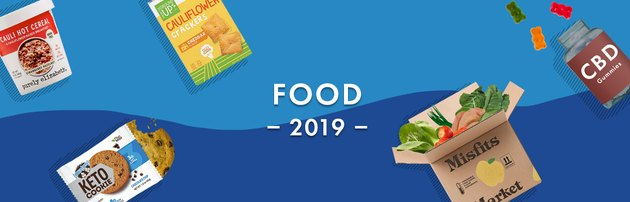 Illustration of top food trends of 2019
