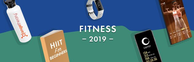 illustration of top fitness trends of 2019