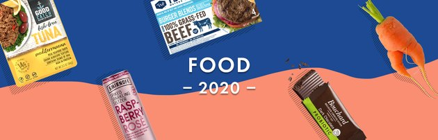 illustration of top food trends of 2020