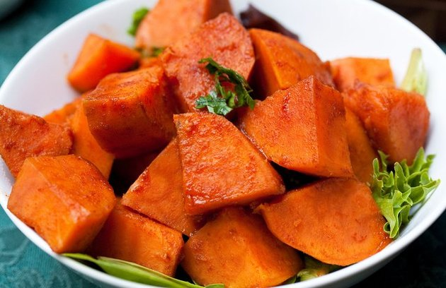 Smoky Maple Sweet Potatoes Vegan Thanksgiving Recipe