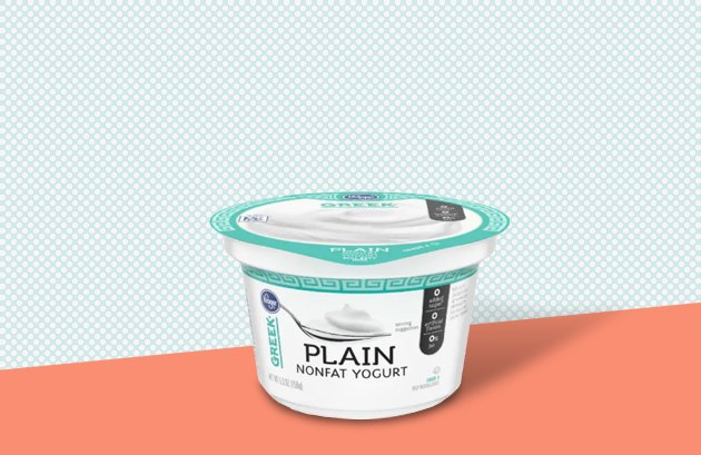 Kroger Plain Nonfat Greek Yogurt
