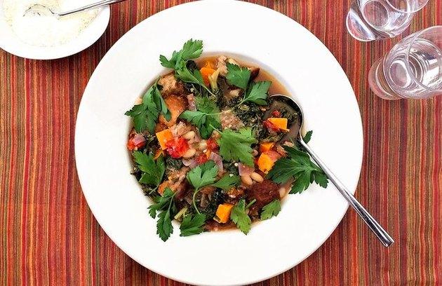Thanksgiving-Inspired Ribollita Vegetarian Thanksgiving Recipes