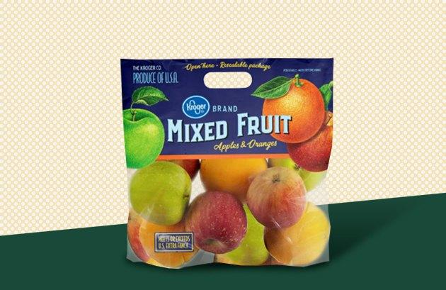 Kroger Mixed Fruit Pouch