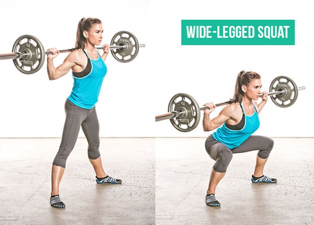 Wide-Legged Squat